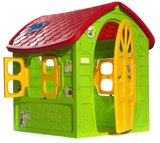 WIKY - Domeček plastový, zelený 120cm