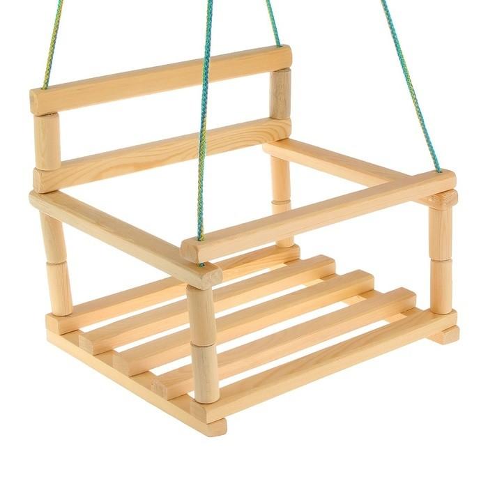 WIKY - Dřevěná houpačka 35x26cm