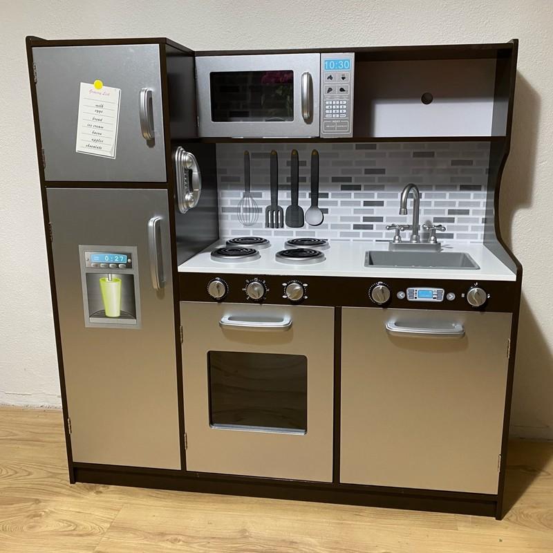 WIKY - Dřevěná kuchyňka 107x40x109 cm