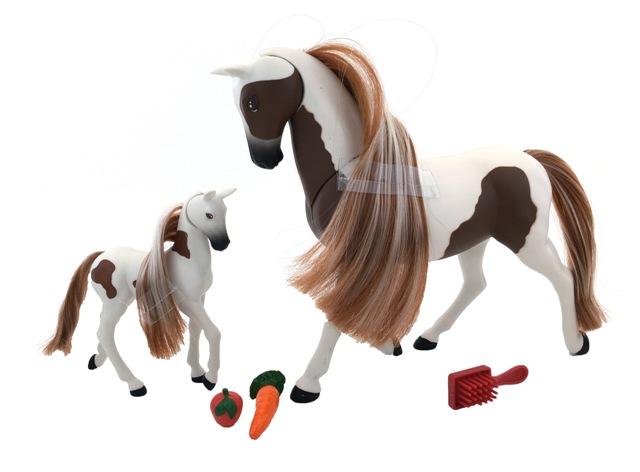 WIKY - Kůň a koník 18cm