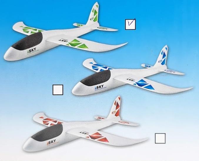 WIKY - Letadlo házecí 47x49cm, Mix produktů
