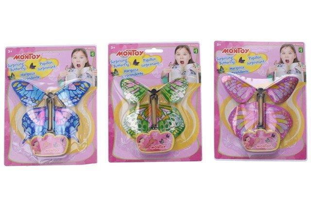 WIKY - Létající motýl 12cm