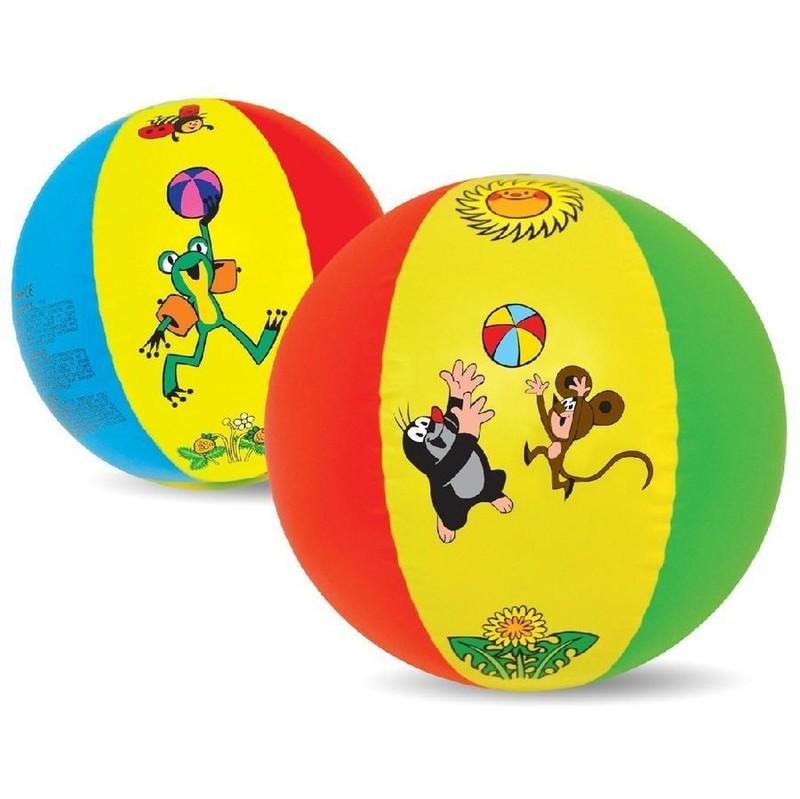 WIKY - Míč Krtek 51cm, barevný, mix barev