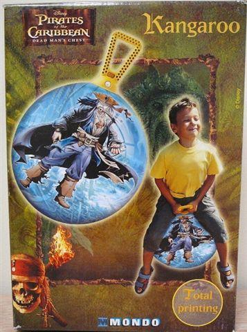 WIKY - Míče skákací - Klokan Piráti