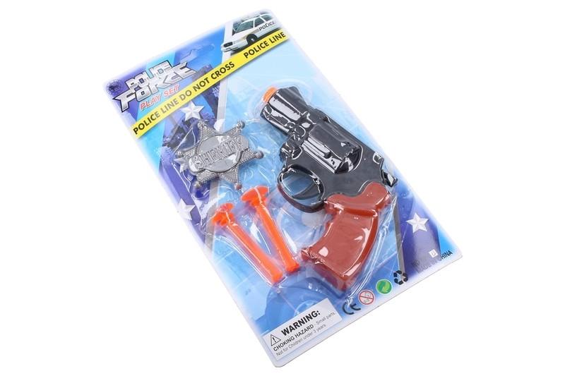 WIKY - Policejní pistole set 13 cm