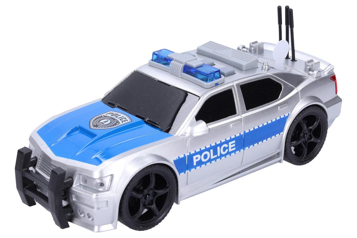 WIKY - Policejní auto na setrvačník 19cm