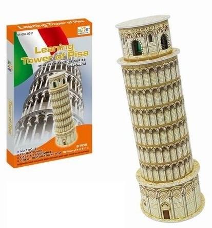 WIKY - Puzzle 3D Šikmá věž v Pise