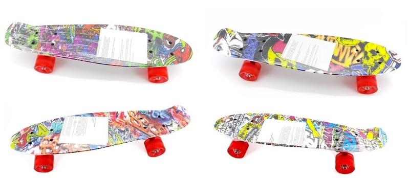 WIKY - skateboard