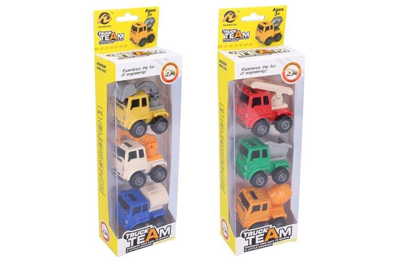 WIKY - Stavební auta 3ks