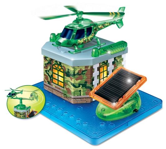WIKY - Stavebnice solární Vrtulník
