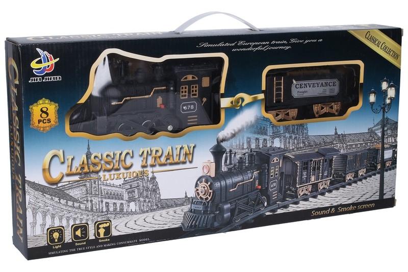 WIKY - Vlak set s tratí 90x90cm