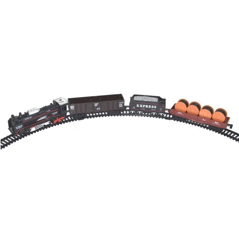 WIKY - Vlakový set Rail King se světelnými efekty