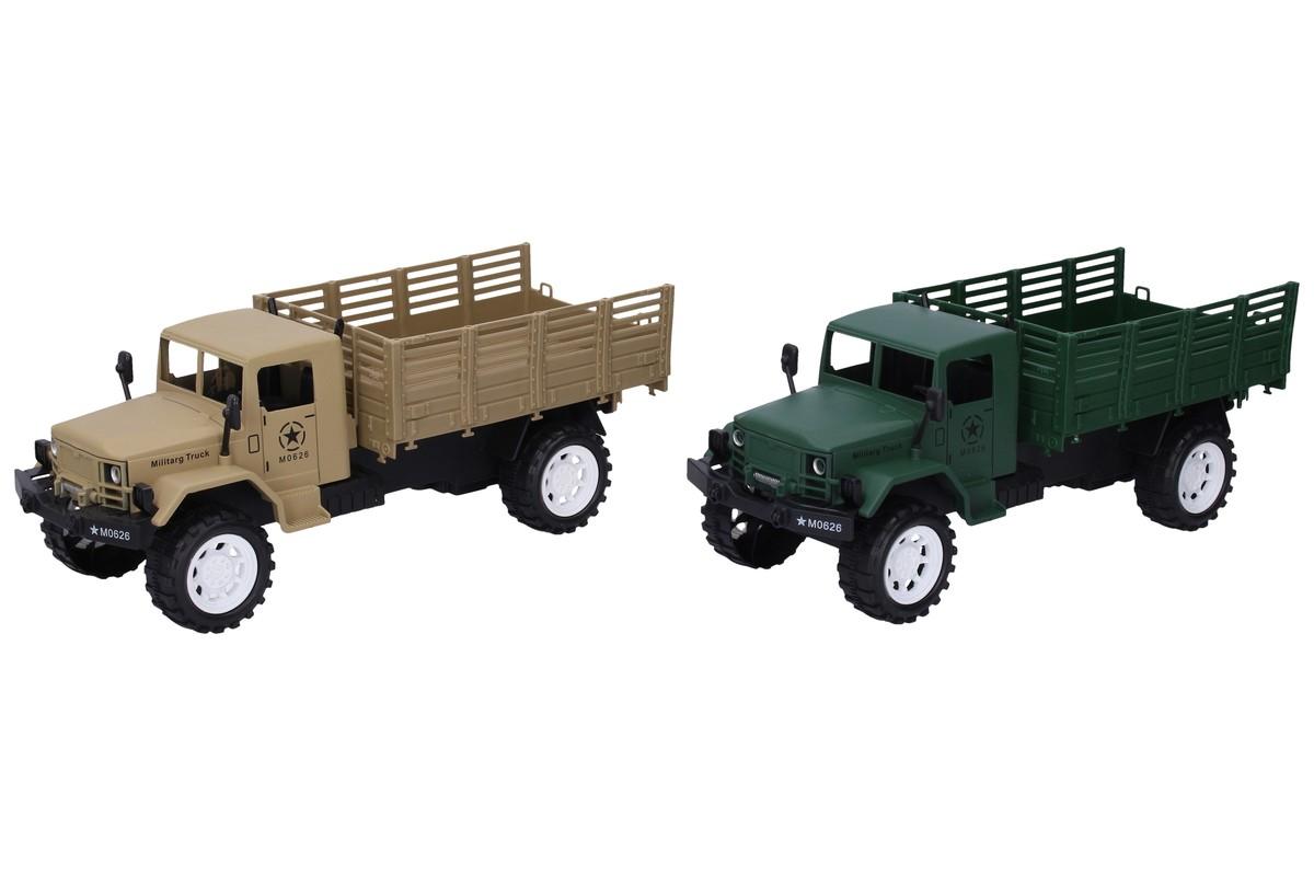 WIKY - Vojenské auto na setrvačník 27cm - zelená