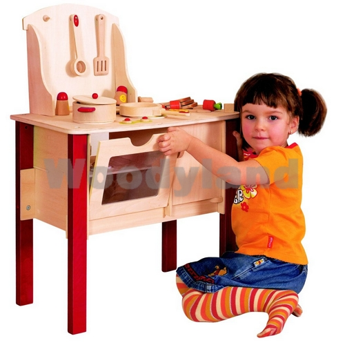 WOODY - Kuchyňka Cindy s příslušenstvím
