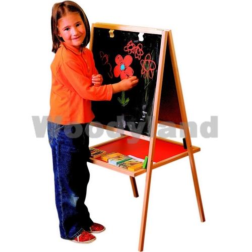 WOODY - Woody Dřevěná tabule na stojanu