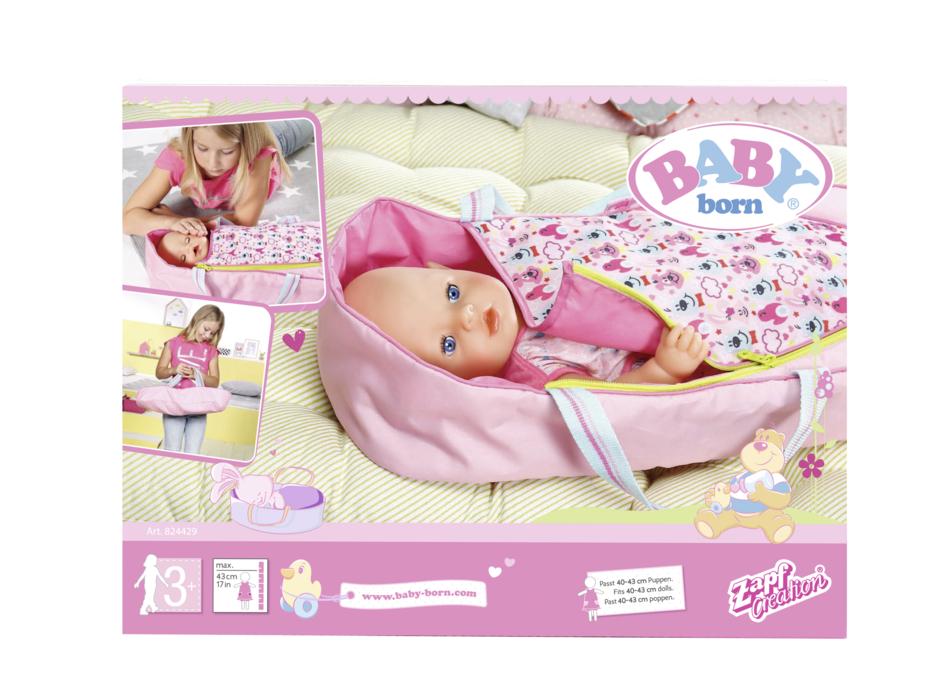 ZAPF - Baby Born 2V1 Přenosná Postýlka