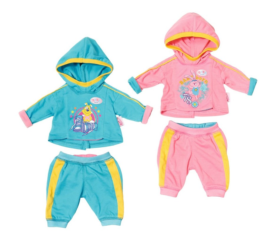 ZAPF - Baby Born Tepláková souprava, 2 druhy