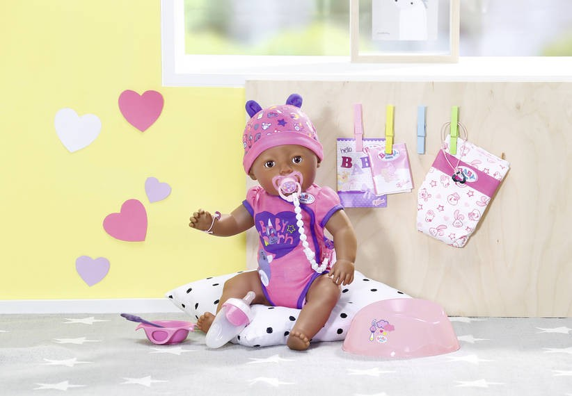 ZAPF CREATION - Panenka Baby Born černošky 824382