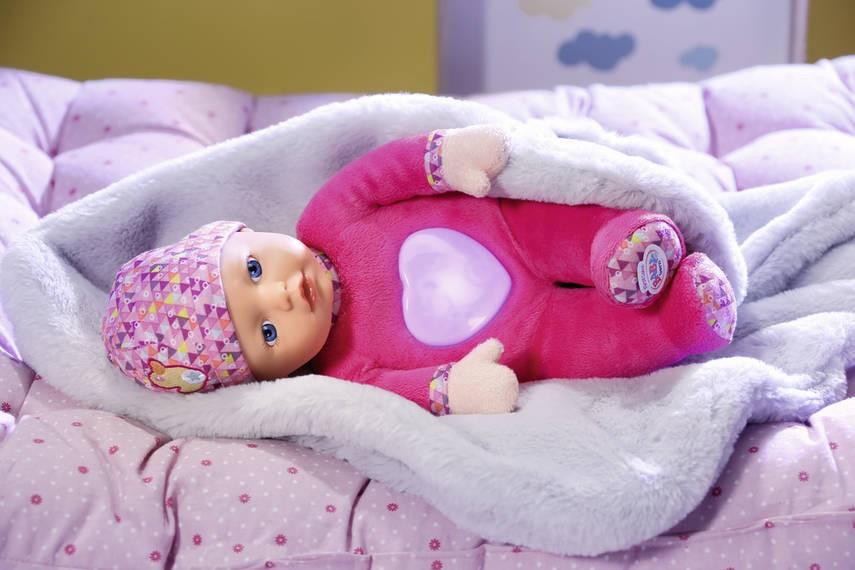 ZAPF CREATION - Panenka Baby Born First love svítí ve tmě 825327