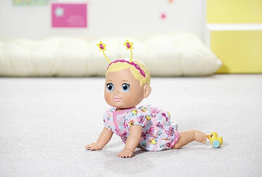 ZAPF CREATION - Panenka Baby Born Funny faces crawling baby 825884