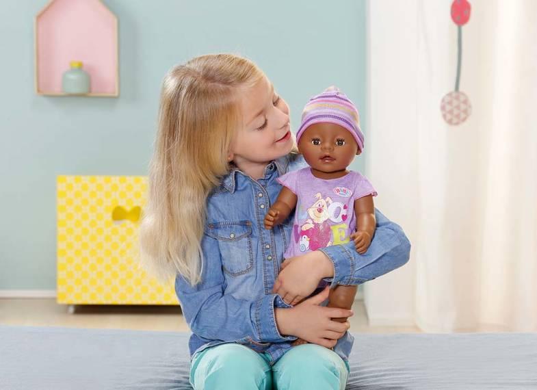 ZAPF CREATION - Panenka Baby Born Interaktivní etnik 822029
