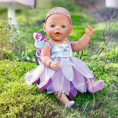 ZAPF CREATION - Panenka Baby Born Motýlí princezna 820698