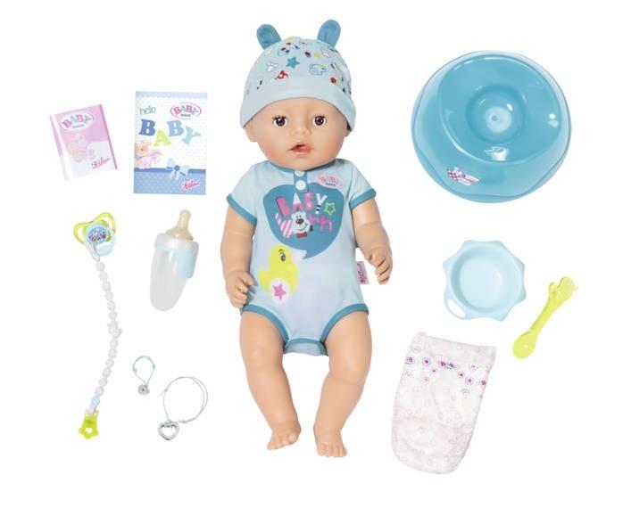 ZAPF CREATION - Panenka Baby Born Soft Touch Chlapec 824375