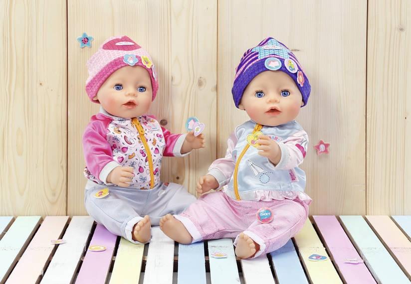 ZAPF CREATION - BABY Born Čepička s nalepovacími ozdobami 825440