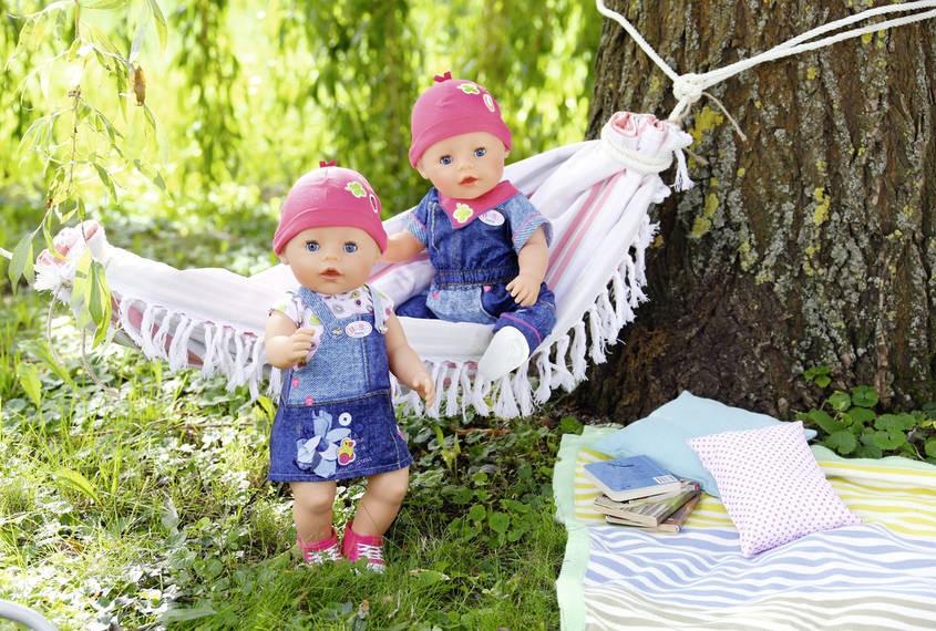 ZAPF CREATION - BABY Born Džínová souprava 824498