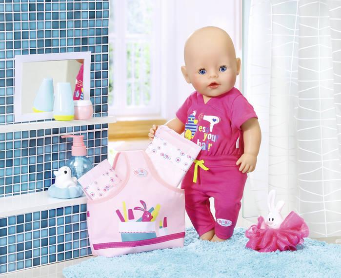 ZAPF CREATION - Baby Born Doplňky do koupelny 823606