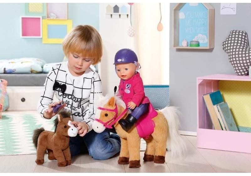 ZAPF CREATION - BABY Born Interaktivní kůň se hříbětem 822371