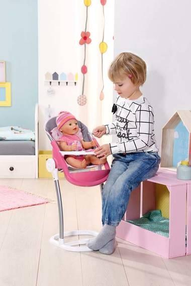ZAPF CREATION - Baby Born Jídelní židle 822272