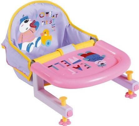 ZAPF CREATION - Baby born Jídelní židle s uchycením na stůl