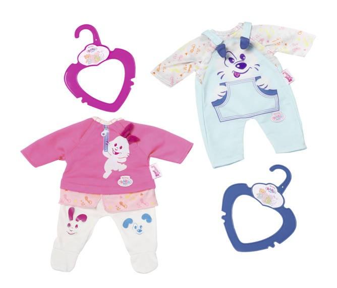 ZAPF CREATION - BABY Born My Little Oblečení 2 druhy 824351