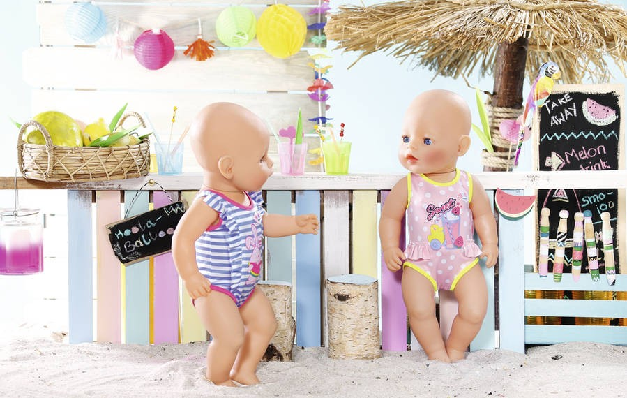 ZAPF CREATION - BABY Born Plavky 824580