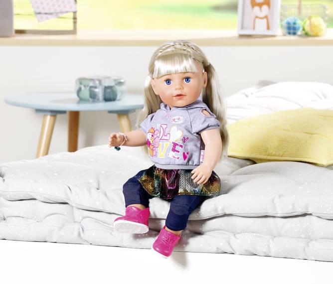 ZAPF CREATION - Baby Born Soft Touch Starší sestřička Blond 824603