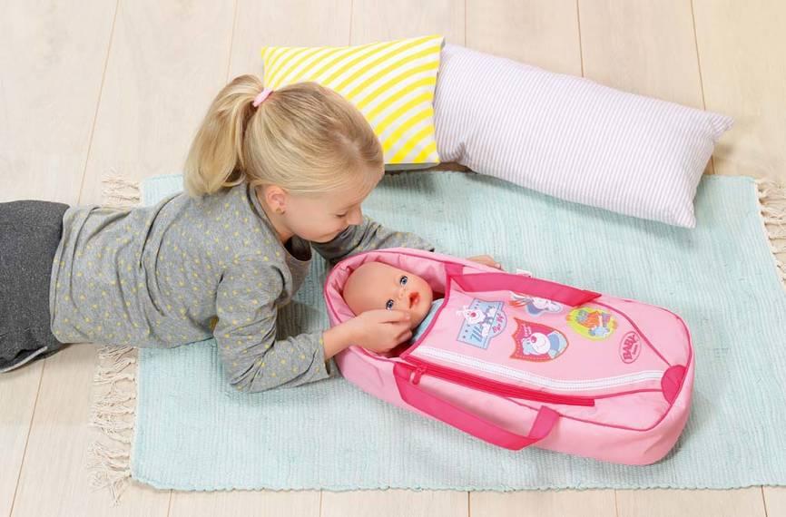 ZAPF CREATION - Baby Born Spací pytel nebo přenosná taška 822203