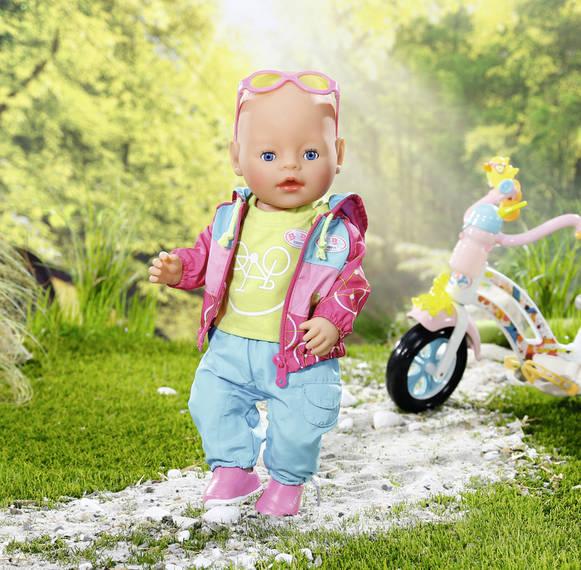 ZAPF CREATION - Baby Born Souprava na kolo 823705