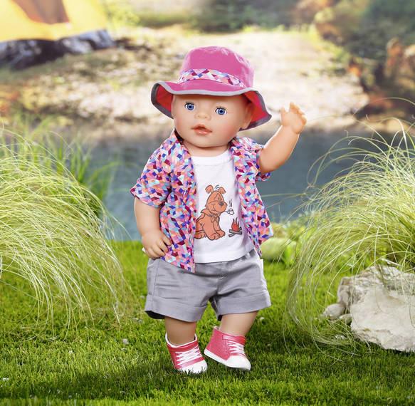 ZAPF CREATION - Baby Born Souprava na kempování 823767