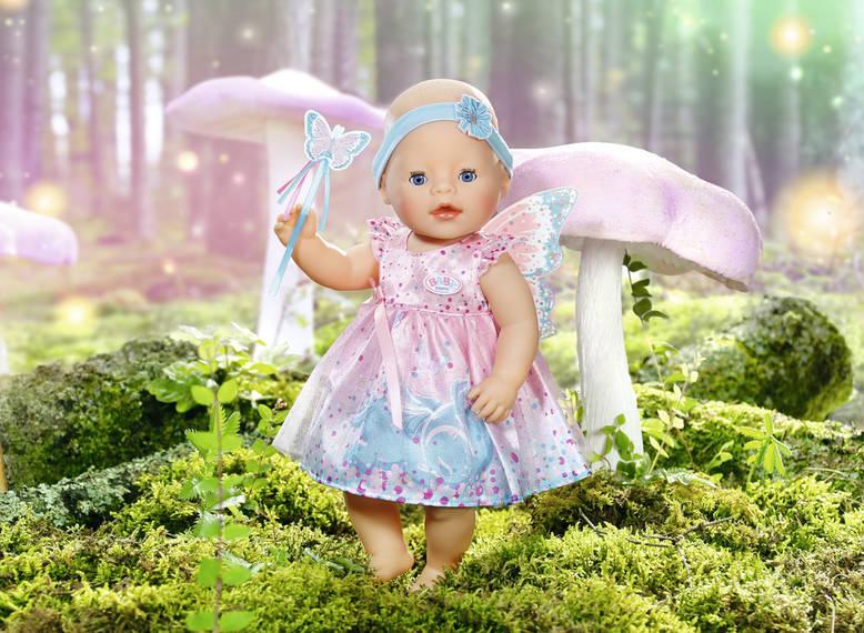 ZAPF CREATION - Baby Born Třpytivé šaty s křidélky 823644