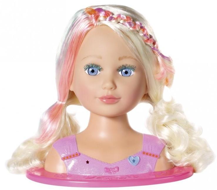 ZAPF CREATION - Starší sestřička BABY born Česací hlava 827307, 27 cm
