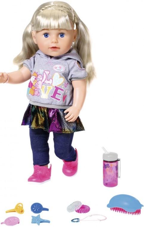 ZAPF CREATION - Starší sestřička BABY born Soft Touch blondýnka, 43 cm