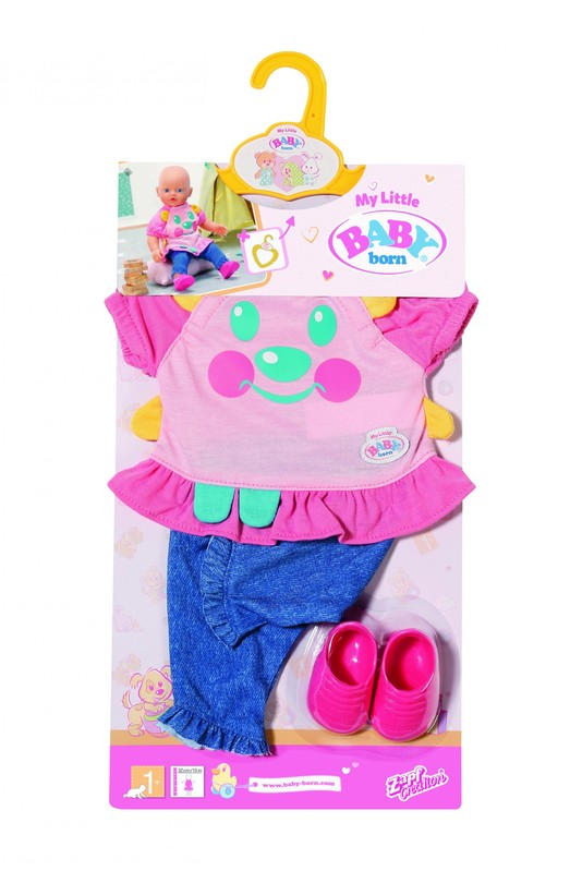 ZAPF - My Little Baby Born Roztomilé oblečení, 2 druhy