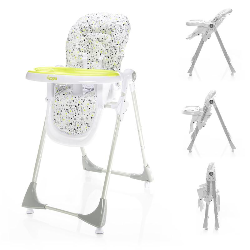 ZOPA - Dětská jídelní židlička Monti - Animals
