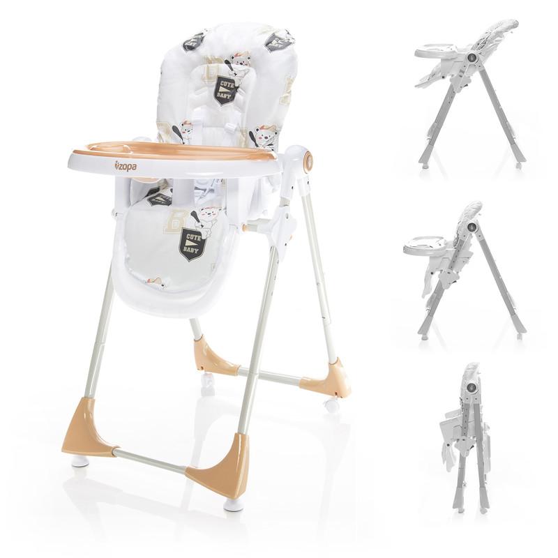 ZOPA - Dětská jídelní židlička Monti - Baby