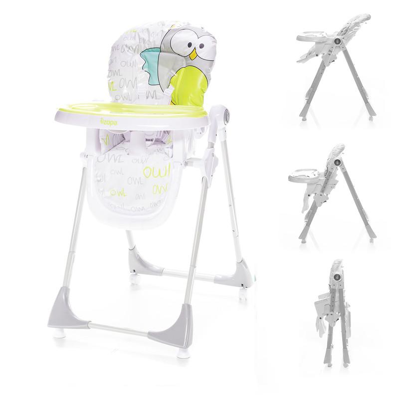 ZOPA - Dětská jídelní židlička Monti - Griffin Grey
