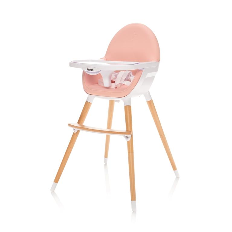 ZOPA - Dětská židlička Dolce, Blush Pink