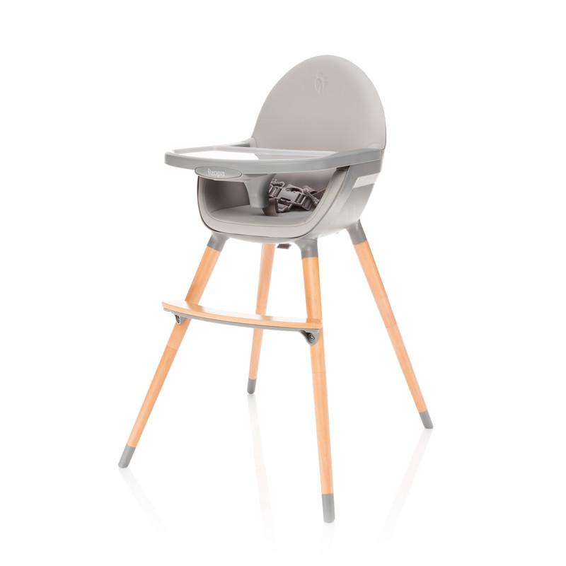 ZOPA - Dětská židlička Dolce, Dove Grey/Grey