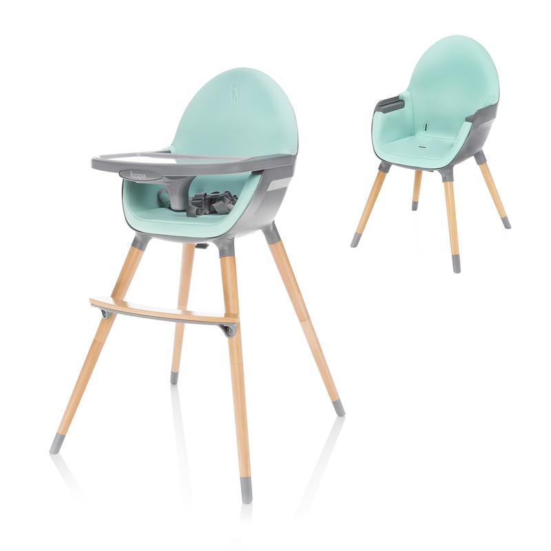 ZOPA - Dětská židlička Dolce, Ice Green/Grey