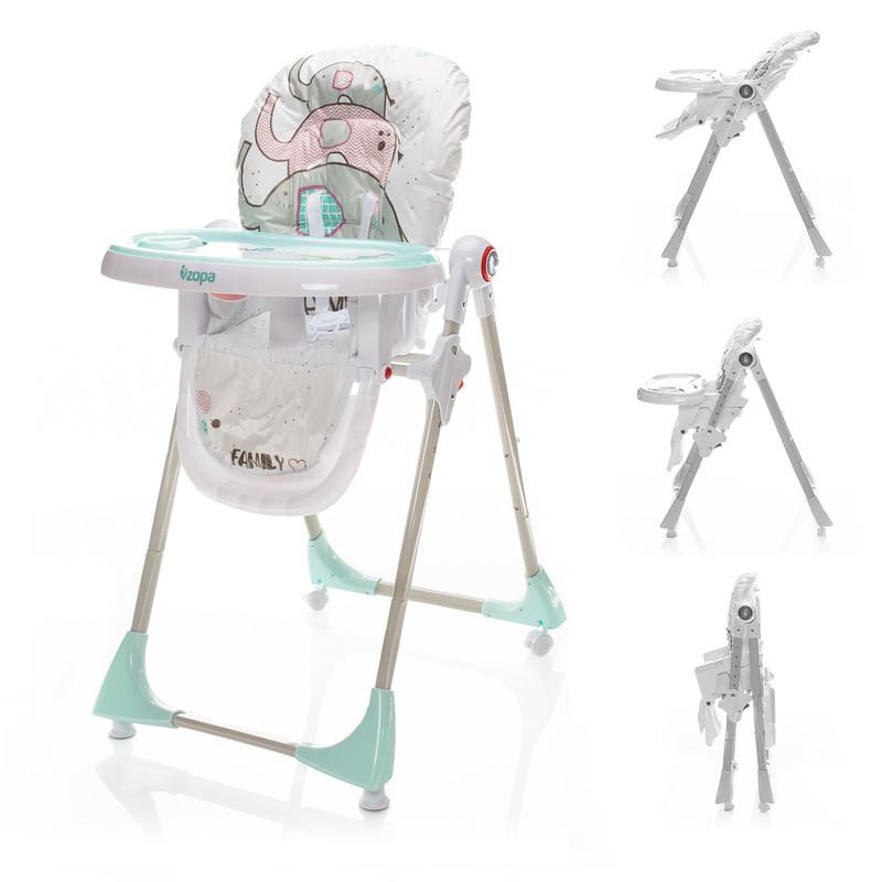 ZOPA - Dětská židle Monti, Elephant Herd